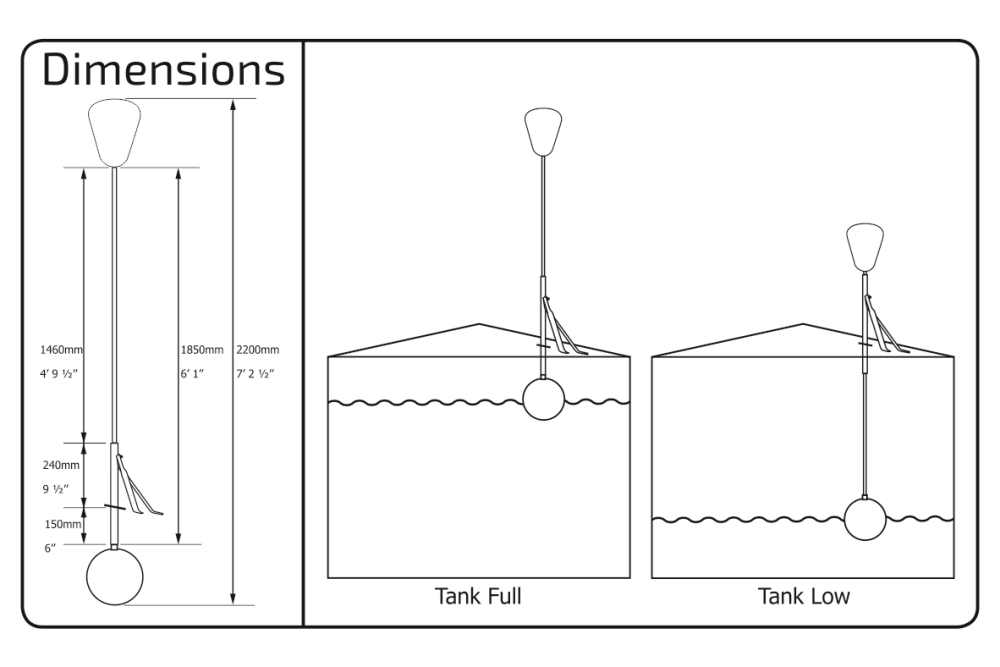 Tank Level Indicator Specifications