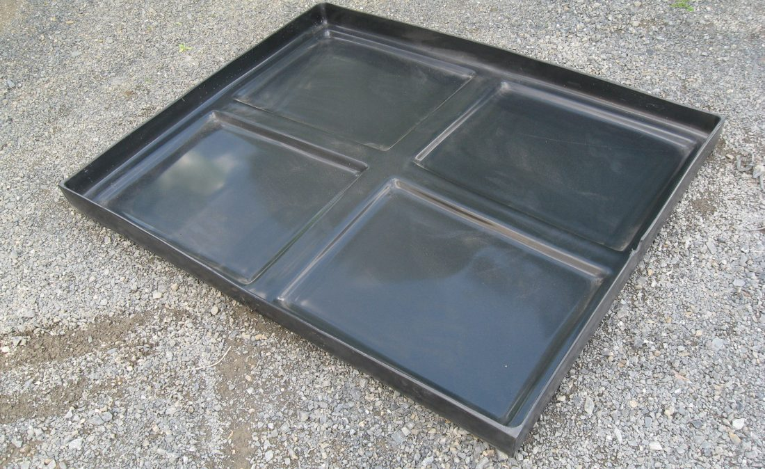 Raised SUPER DRIP TRAY